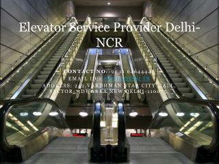 Hissi Elevator Pvt. Ltd. CompanyDelhi India  Commercial Esca