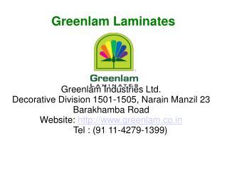 Greenlam Door Laminates