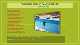 Swimming pool cleaning in pune, Labour supplier in pune, Quality Maintenance Servicein Pune