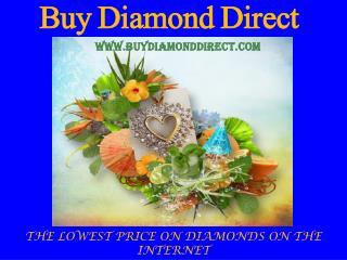 Luxurious Diamond Jewelry at lowest price-Buy Diamond Direct