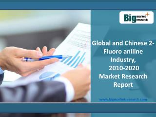 Global and Chinese 2-Fluoro aniline Industry, 2010-2020