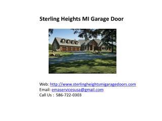 sterling heights MI Garage doors