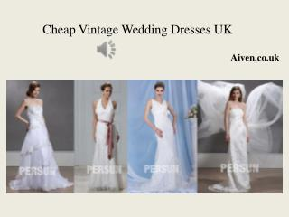 Affordable vintage Wedding Dresses UK 2015