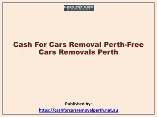 Cash For Cars Removal Perth-Free Cars Removals Perth