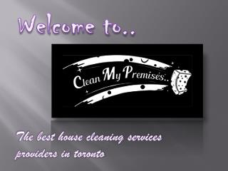 apartment cleaning Toronto