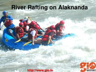 Rafting in India - GIO Adventures