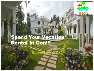 Enjoy Vacation Rental Goa