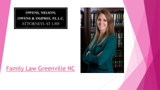 Greenville NC Family Law Attorney