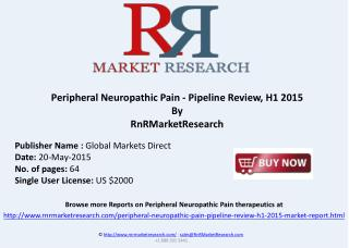 Peripheral Neuropathic Pain Therapeutics Assessment 2015