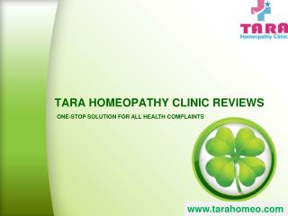 Tarahomeopathy Clinic Reviws