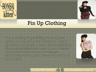#Pin Up Clothing