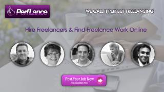 Hire Freelancers & Find Freelance Work Online - Perflance