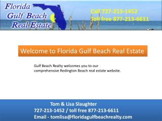 Clearwater Beach - Gulf Beach Realty