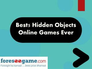 Best 5 Hidden Object Games Ever
