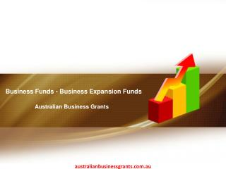 Business Funds - Business Expansion Funds