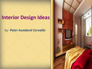 Peter humberd Corvallis - Interior Design Ideas