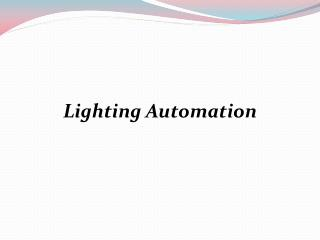 Lighting Automation | Homeautomation