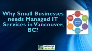 Why Small Businesses needs Managed IT Services in Vancouver