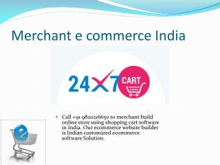 Internet ecommerce India