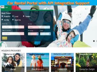 Car Rental Website Development with API Support