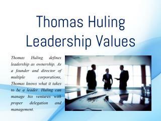 Thomas Huling