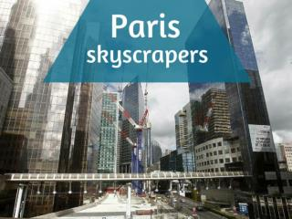 Paris Skyscrapers