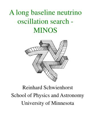 A long baseline neutrino oscillation search - MINOS