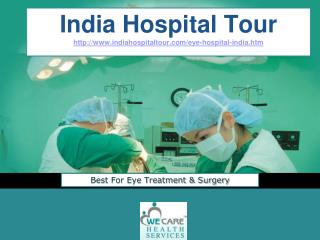 Eye Hospital India Best For Eye Surgery