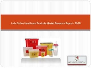 Market Share and Size Online Healthcare Products in India