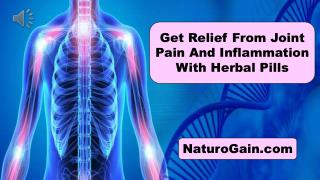 Get Relief From Joint Pain And Inflammation With Herbal Pill