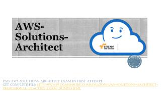 AWS Architect Associate Study Guide
