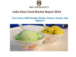 India Ice Cream Industry Future Growth