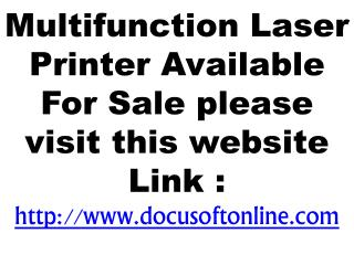 Multifunction Laser Printer Available For Sale
