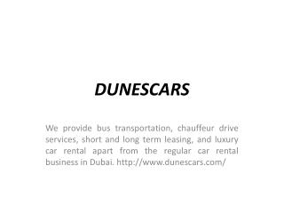 Rent Cars in Dubai