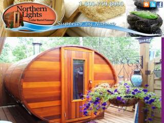 Wood Fired Saunas
