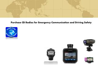 Purchase CB Radios for Emergency Communication and Driving