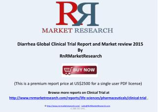 Diarrhea Global Clinical Trials Review, H1 2015