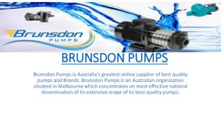 Brunsdon Pumps
