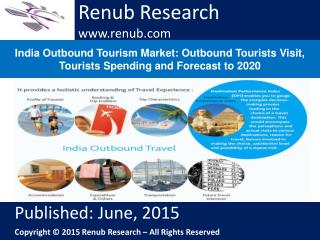 India Outbound Tourism Market: Outbound Tourists Visit, Tour