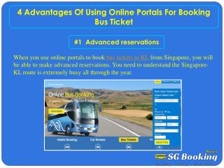 4 advantages of using online portals for booking bus ticket
