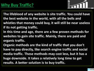 Buy Traffic - website traffic
