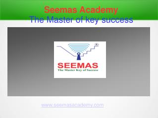 Seemas Academy | The Master Key of Success