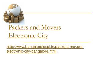 Packers and Movers Benson Town