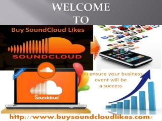 The Importance of Buy SoundCloud Likes