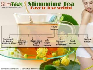 Tensed Of Extra Weight? Go For Herbal easy Slimming Tea