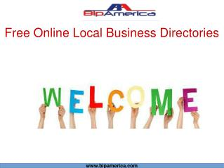 Free Online Local Business Directories