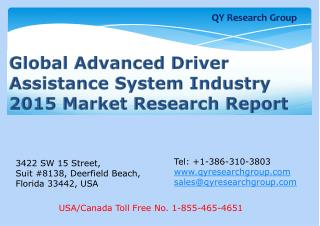 Global Advanced Driver Assistance System (ADAS) Industry 201