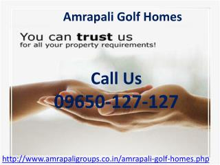 Amrapali golf homes is Residential Project Launched By Amrap