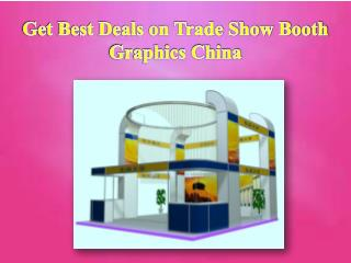 Trade Show Booth Graphics China