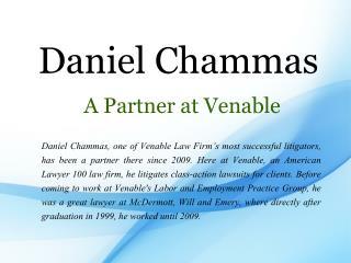 Daniel Chammas A Partner at Venable